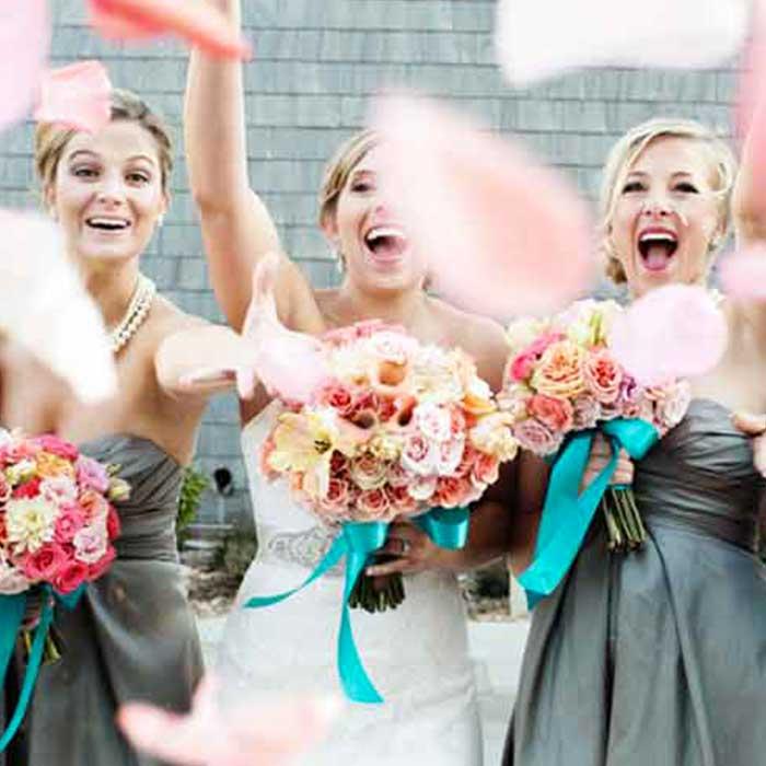 bridesmaids ibiza wedding
