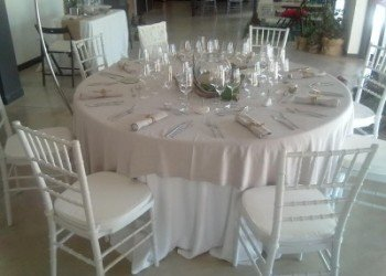 ibiza premium wedding table set up