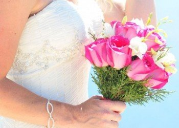 Ibiza bridal boquet