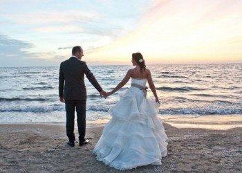 wedding beach photo in Ibiza