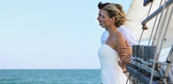 boat wedding ceremony in Formentera